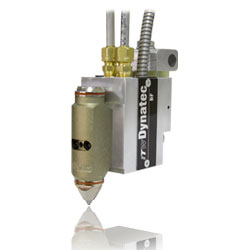 The BF™ Mod-Plus Optima™ automatic adhesive applicator nozzle head from ITW Dynatec®