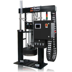 The DM55 DynaDrum™ bulk hot melt adhesive melter from ITW Dynatec®